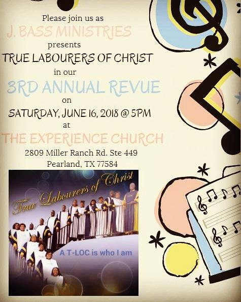 1st 3rd Annual Revue Flyer