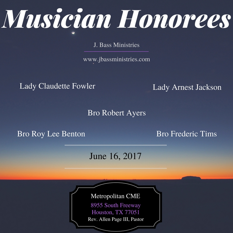 Musician Honorees
