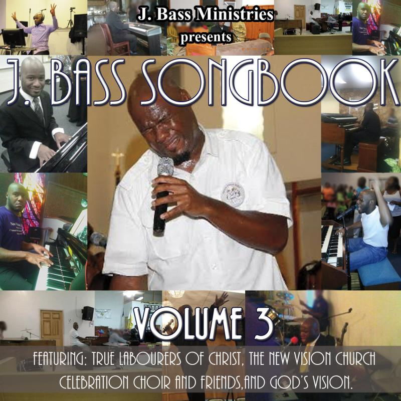 J. Bass Songbook Volume 3 CD Cover